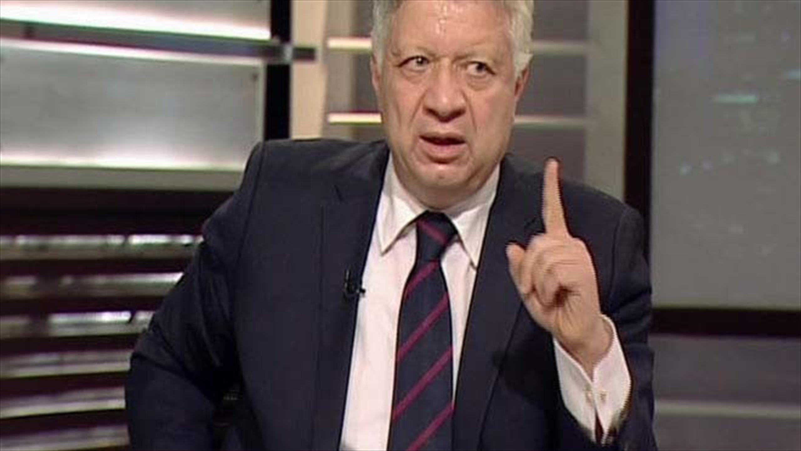 مفاجأة مرتضى منصور ي دافع عن ميتشو وينتقد اللاعبين