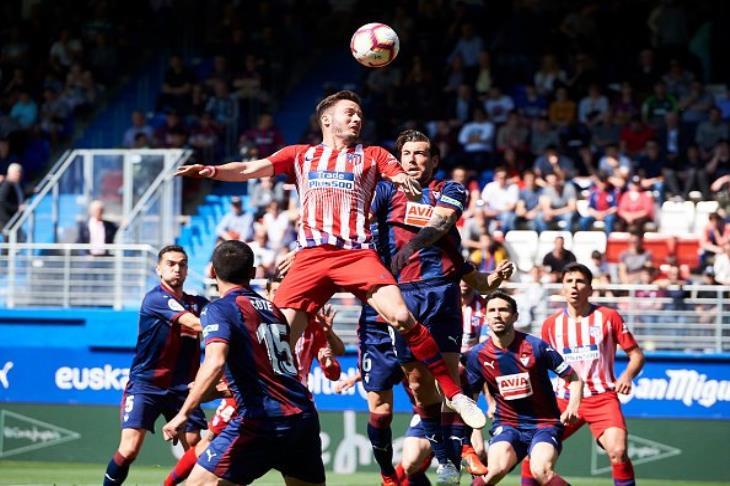 الليلة ..أتلتيكو مدريد يواجة إيبار في الدوري الإسباني