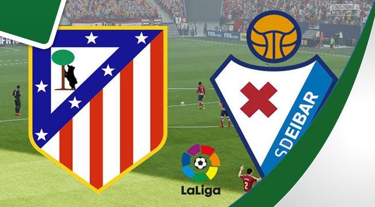 مشاهدة مباراة أتلتيكو مدريد وإيبار في الدوري الإسباني