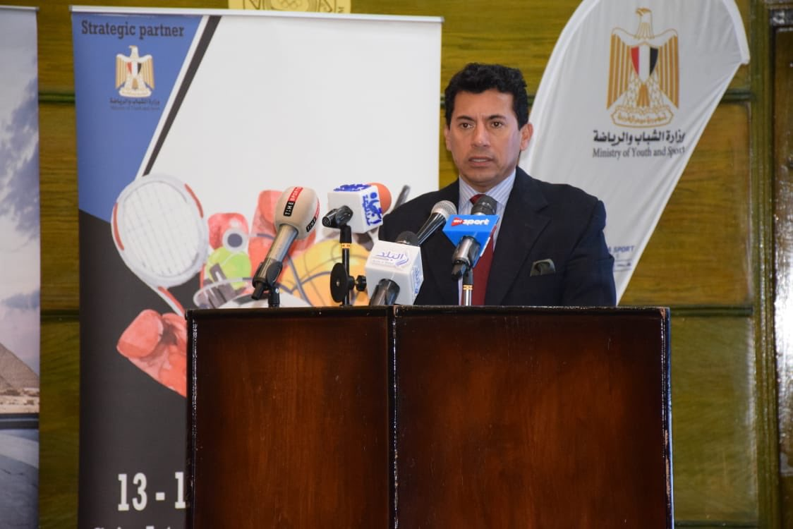 وزير الرياضة يُعلن إقامة النسخة الثانية للمعرض الدولى للياقة البدنية