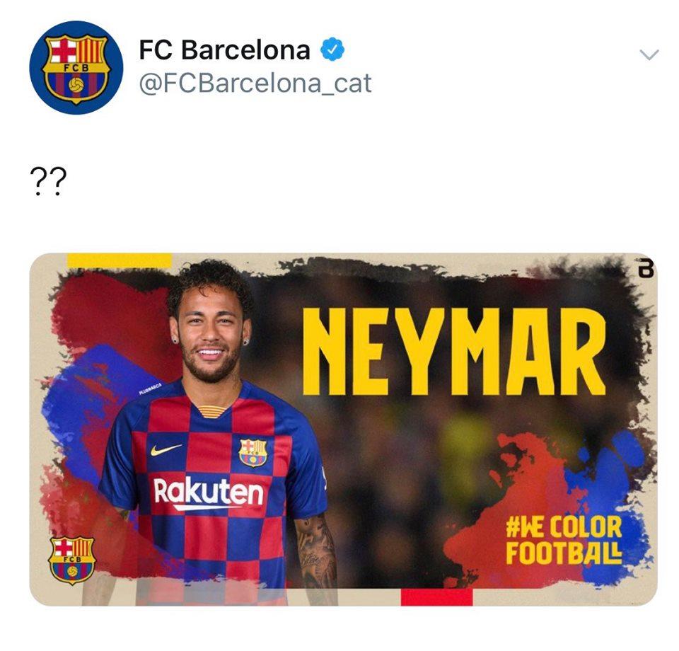 """بالصور.. """"أورماين"""" تخترق حساب برشلونة على تويتر"""